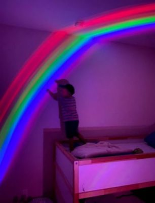 Amazing Rainbow Projector Lamp photo review