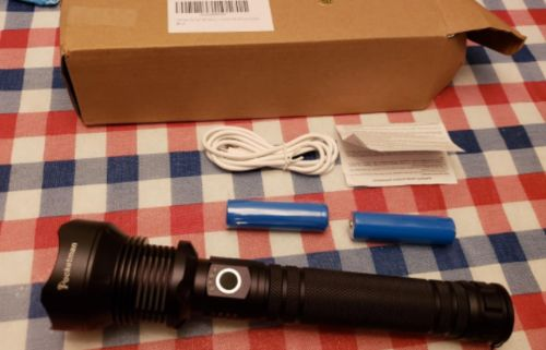 90000 Lumens Xhp70.2 Most Powerful Flashlight photo review
