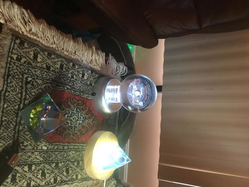 3D Laser Engraved Galaxy Universe Spirit Crystal Ball photo review