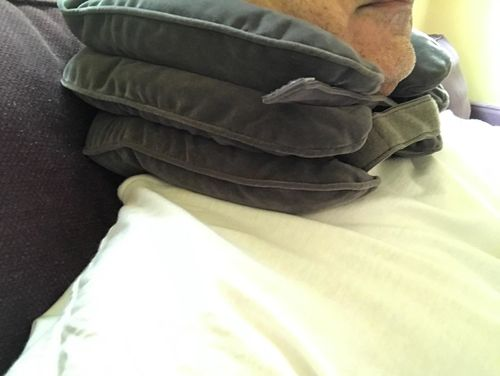 Quantum Inflatable Neck Traction Pillow photo review
