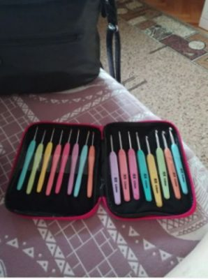 Lite Up Crochet Hook Set 8Pcs photo review