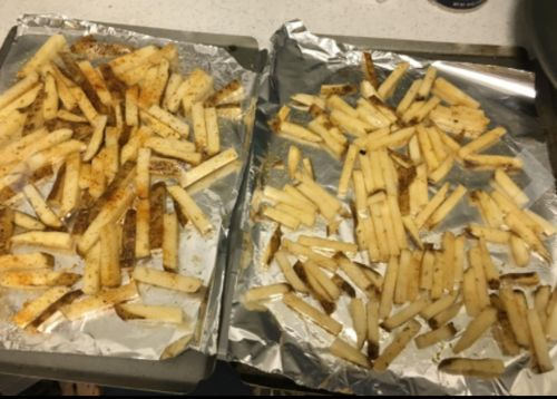 Microwavable Crispy Fries Maker photo review