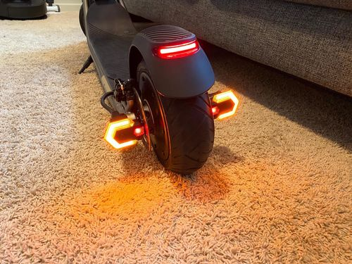 Remote Bicycle Turn Signal Lights photo review