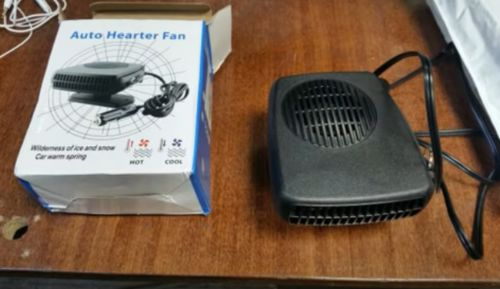 Premium Car Heater Windshield Defroster Portable Plug In 12 Volt Heater photo review