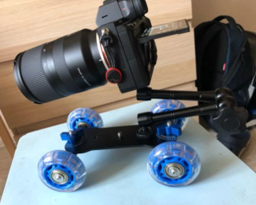 Professional Camera Dolly Slider photo review