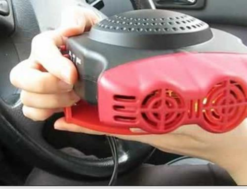 Portable Car Heater Plug In Windshield Defroster 12 Volt Space Heater For Cars photo review